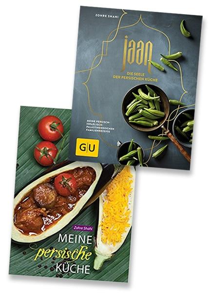Kochbücher persisch, arabisch, orientalisch